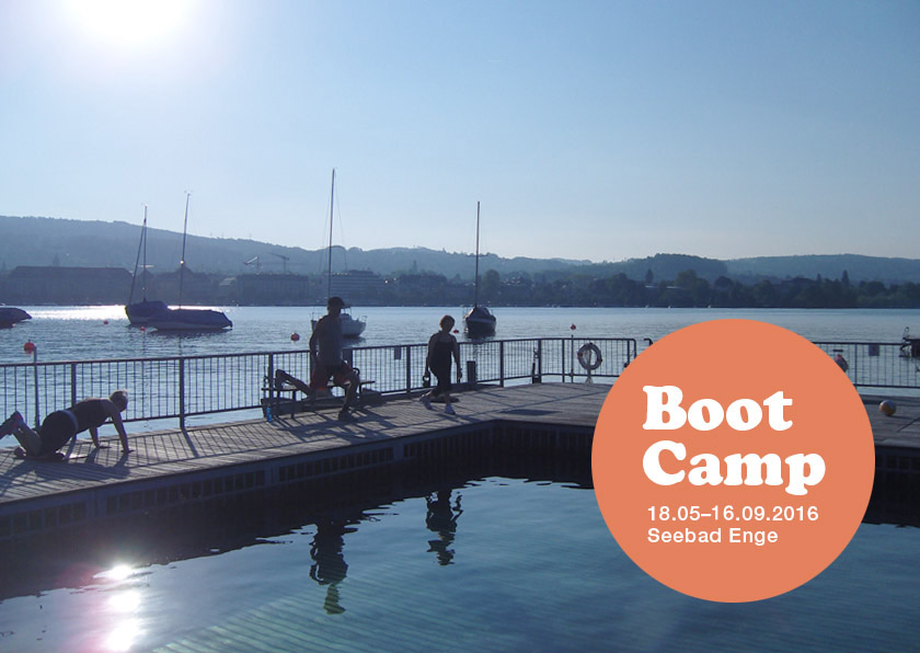 Postkarte Boot Camp 16